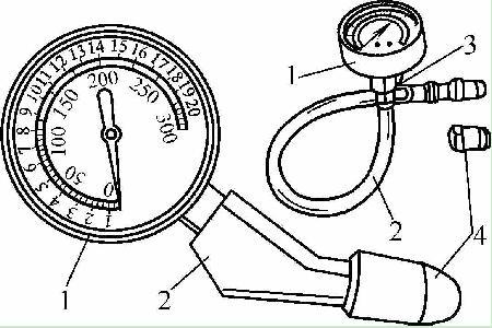 气缸压力表的组成